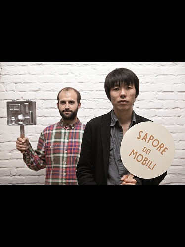 "Sapore dei mobili by Rui Pereira and Ryosuke Fukusada. ""Vous voulez rire?"" /Are you kidding ? Curator : Benjamin Girard/agence Design Project - Scenography : 5.5 Designers - Biennale Internationale Design Saint Etienne."