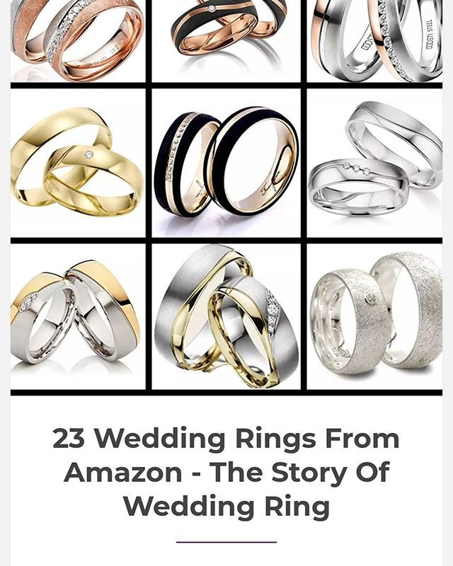23 Wedding Rings From Amazon The Story Of Wedding Ring Rings For Men Wedding Rings Rings