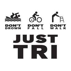 Particularly worried about the 'don't fall' bit... #triathlon #ironman #motivation http://www.thetrihub.com
