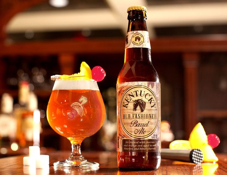 An iconic cocktail reinvented: Kentucky Old Fashioned Barrel Ale summer seasonal beer debuts