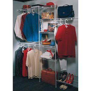 Cool Closet Maid Closet Organizer With 12 Inch Deep Closet Organizers