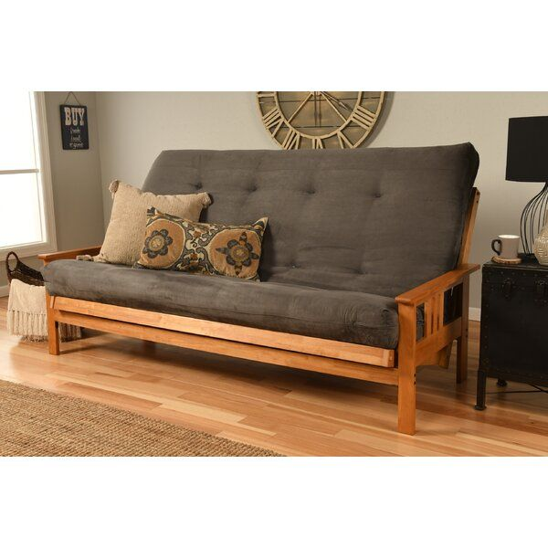 Leavittsburg Queen 86 Wide Futon And Mattress Queen Size Futon Futon Frame Futon Futon bed with mattress included