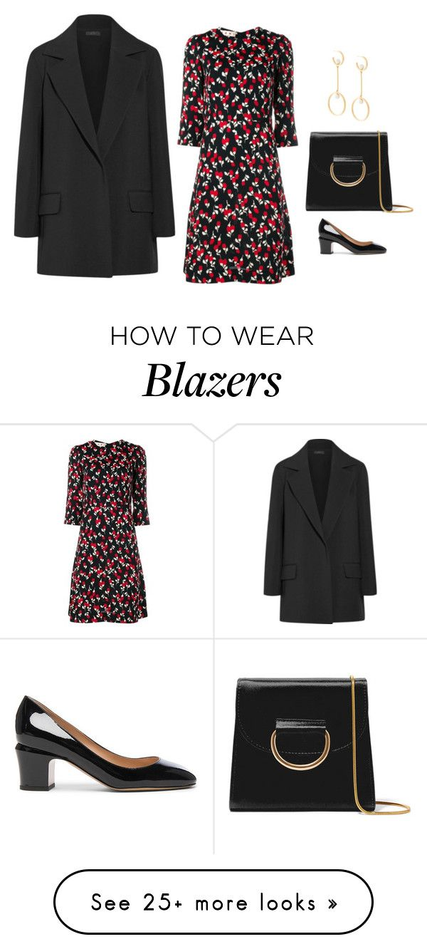 """""""Untitled #1071"""" by gate33 on Polyvore featuring The Row, Marni, Valentino, Chloé and Little Liffner"""