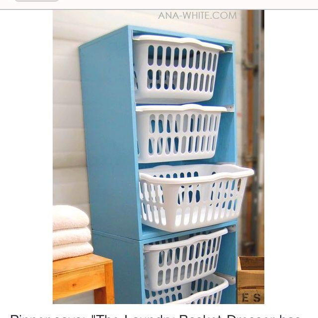 laundry room organization | Cute laundry room idea | Laundry Room Organization