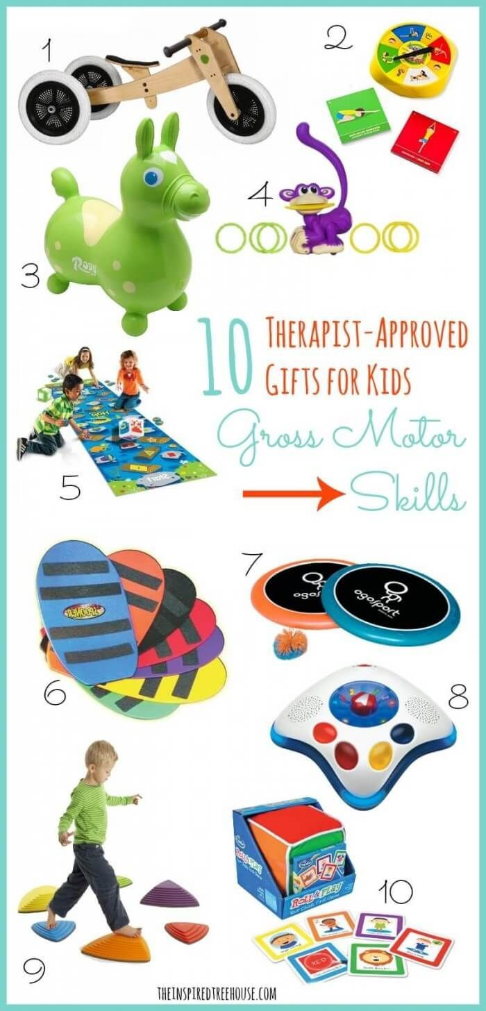 A few more of our favorite gift ideas for promoting healthy development in kids!