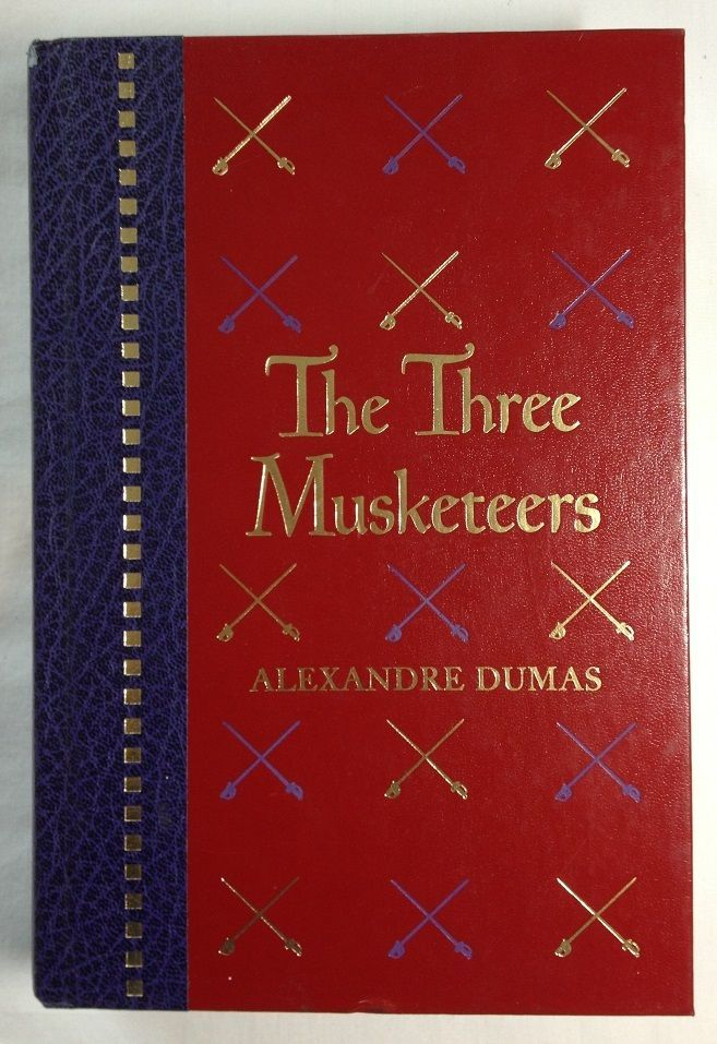 The Three Musketeers - Alexandre Dumas Illus Rowland Wheelwright Reader's Digest