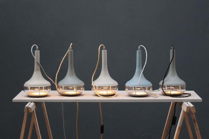 Beton Stelllampe Idée al