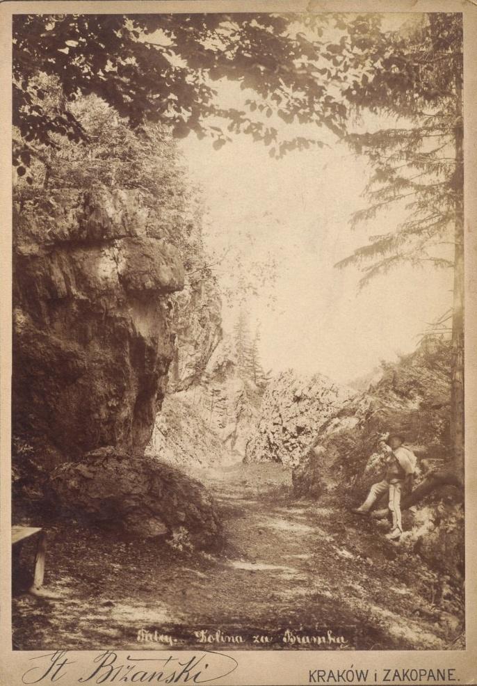 S. Bizański, Tatry, Dolina za Bramką