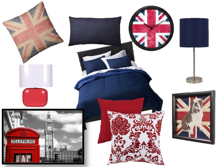 Crossing my fingers that I may have a british themed room by the end of the week! <3
