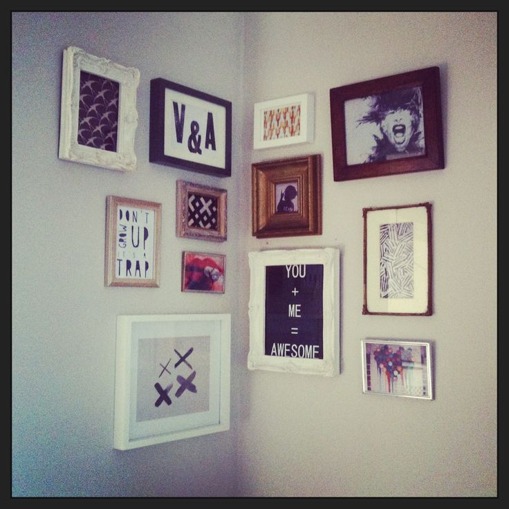 Awesome Picture Frame Arrangement Image Collection - Custom Picture ...
