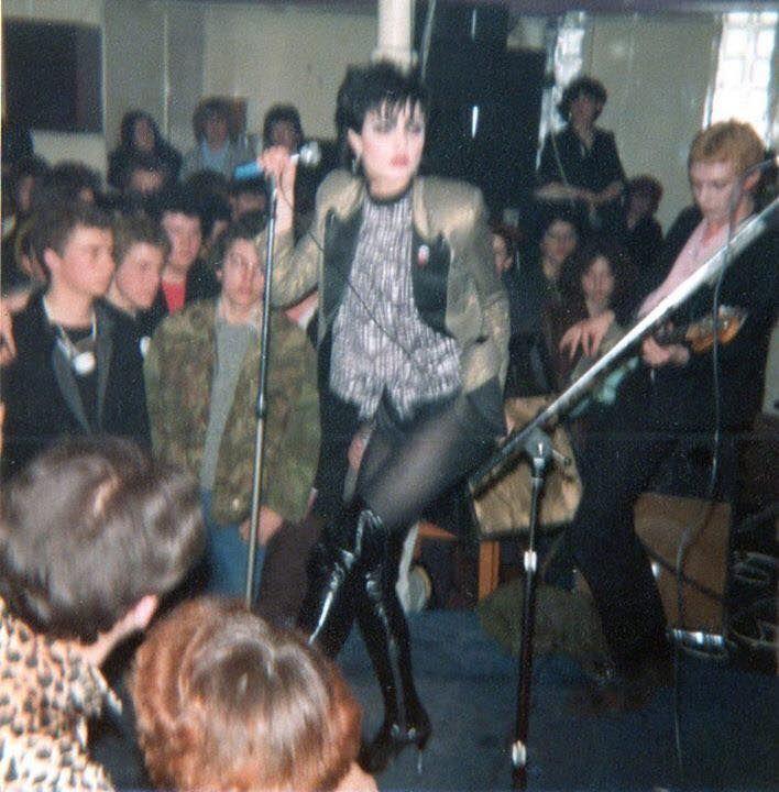 Original photos of Siouxsie in Leeds UK 1978.taken by hannah jones