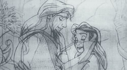 Belle and the Prince ( because believe it or not pinners, his name is not officially Adam)