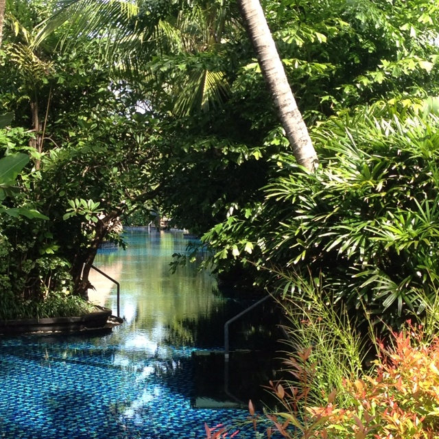 St Regis Bali pool