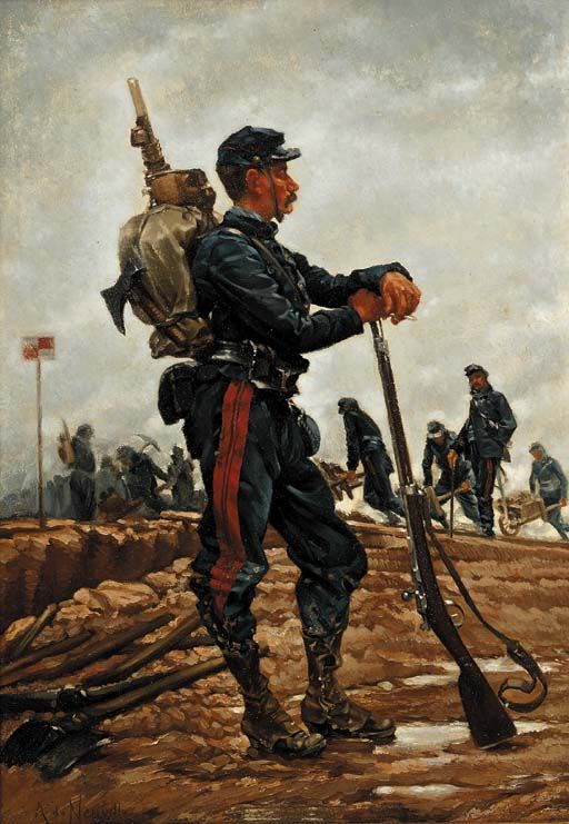1870, Franco-Prussian war, French soldier