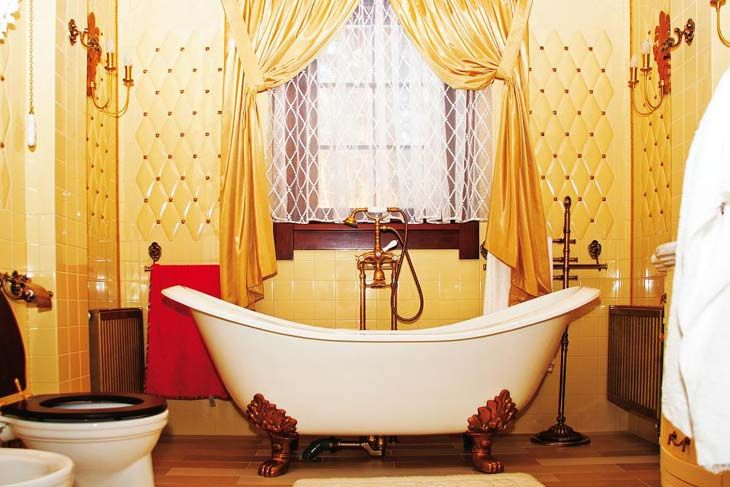 197 Best Images About Gray & Yellow Bathroom Ideas! On
