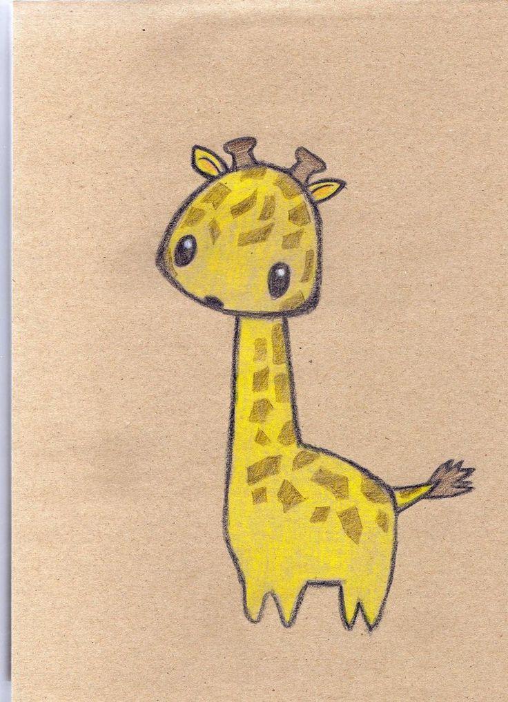 Картинки жирафов для срисовки
