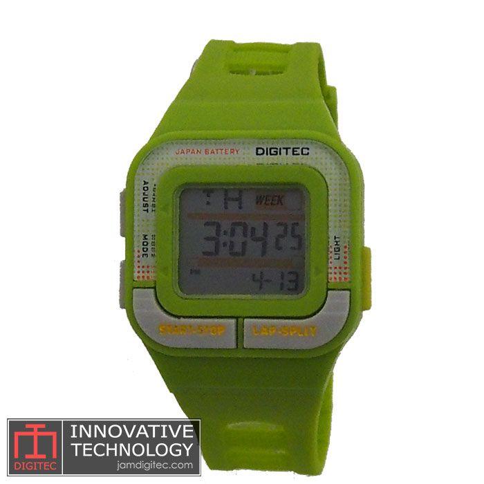 jam tangan digitec wanita DG-3026T hijau