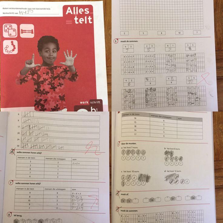 Hugo, 1e klas, voorjaar 2017. Rekenmethode. 3b1