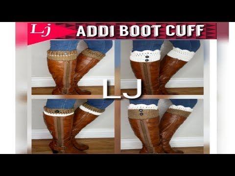ef046de48be27 YouTube Addi Pro Boot cuff 4 ways to wear!