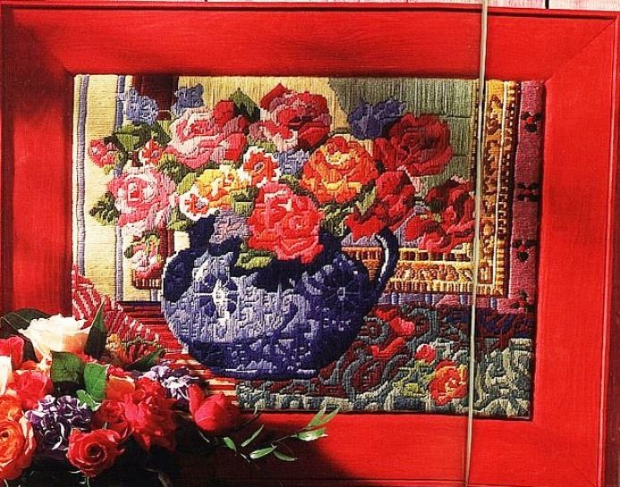 Gallery.ru / Фото #16 - Вышивка и схемы в технике long stitch. - Los-ku-tik
