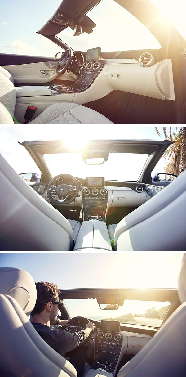 The Interior Of Mercedes Benz C Class Cabriolet Is A Statement