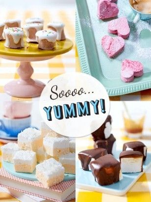 Marshmallows selber machen  - so geht's - marshmallow-rezepte