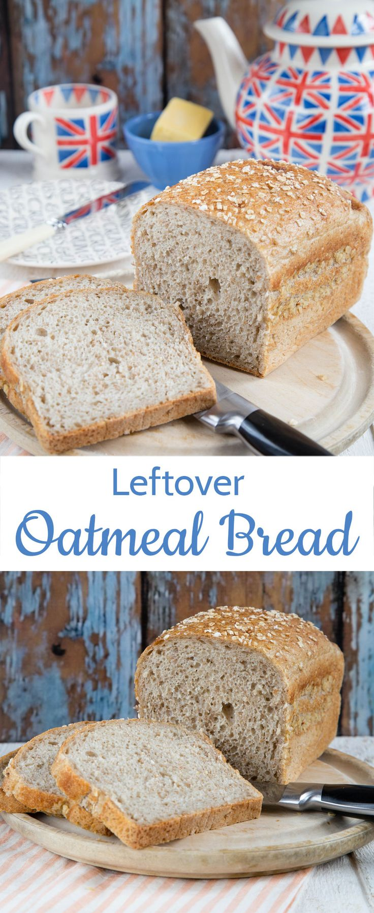 Try something different with this porridge bread; a an easy recipe for a filling and full flavoured loaf of wholesome bread.