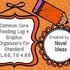 These are reading logs tailor made for each CCSS literature standard #6 grades 6-8. It is meant to be used for all types of fiction passages. You a...