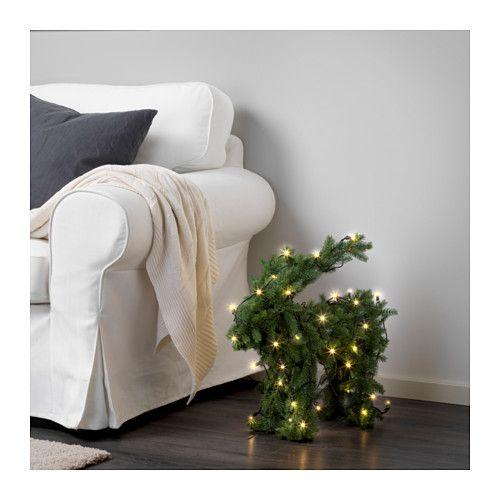 IKEA VINTER 2016 goat decoration + lighting <3