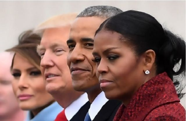 Michelle Obama Wasn't Giving Side Eye: She Was Mourning Her Family Home | The Baby Post