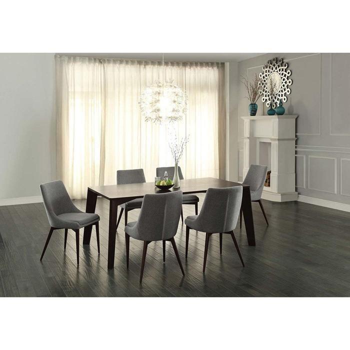 Fillmore 7 Piece Dining Table Set In Espresso