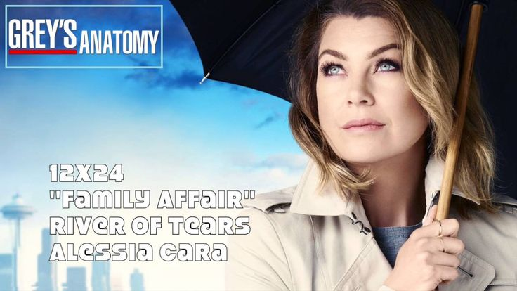 "Grey's Anatomy Soundtrack - ""River of Tears"" by Alessia Cara (12x24)"
