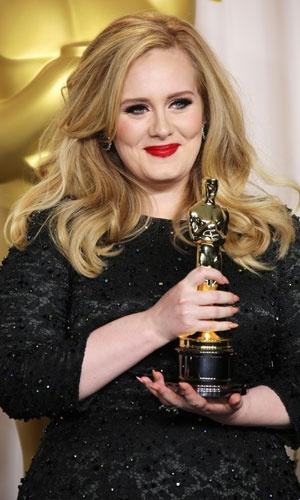 Adele Oscars 2013 - Hair color