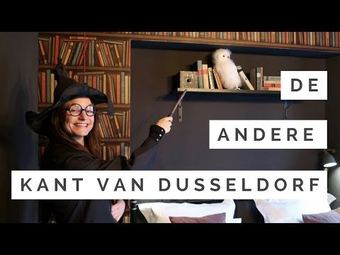 Düsseldorf from the other side: overnachten in de Harry Potter kamer van Hotel Friends