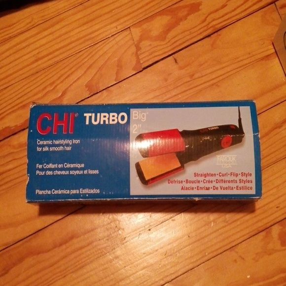 Chi hair straightener Never used. Box is scratched from moving. Accessories Hair Accessories