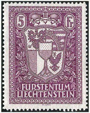 Lichtenstein Postal stamps 1933 in perfect condition ** . Michel 1,200.- EUR. Dealer Götz Int. Auktionshaus Auction Minimum Bid: 240.00 EUR