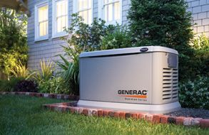 Provides essential circuit power protection for your home, ensuring the necessities remain powered during an outage or up to whole house coverage when paired with one of Generac's load shedding devices. Capable of backing up a five ton air conditioner.