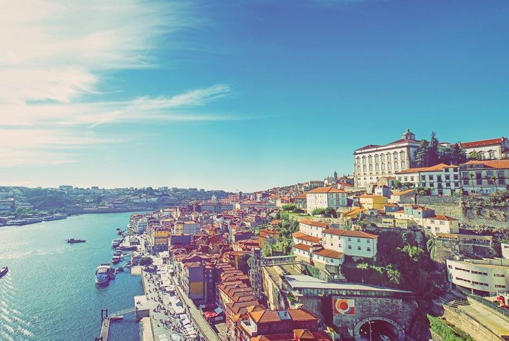 Hands up who wishes they were in #Porto this weekend to soak up some sun !Don't know much about this awesome destination? Portugal's second city is colourful facades scorching summer sunshine and incredibly affordable prices... Head to the blog to check out @pulpedtravel's guide! #friyay #Fridayfeeling #summer2017 #holiday #escape #interrail #europe #backpacker