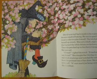 I chose this illustration because of how the flowers are blossoming and the different lines are form in this illustration that has been used very eye appearing. Williams. J (1974) The witch in the cherry tree, London England. Retrieved from;  https://www.google.co.nz/search?q=slinky+malinki+cat+tales&source=lnms&tbm=isch&sa=X&sqi=2&ved=0ahUKEwi25qWPlabUAhUJ2LwKHeyxCFMQ_AUIBigB&biw=1366&bih=662#imgrc=0Mws-081KHKacM: