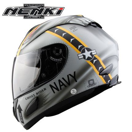 100% Original motorcycle helmet with inner sun visor full face helmet double visor helmet with anti-fog visor