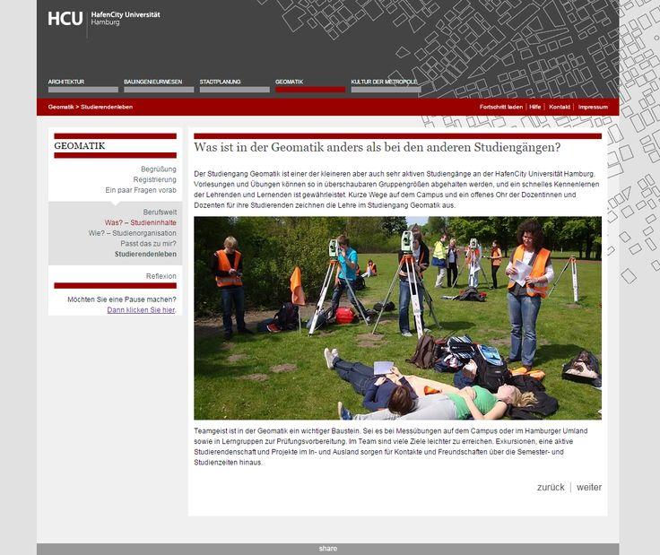 Die HafenCity Universität Hamburg startet mit Online-Studienorientierungen für Geomatik und Kultur der Metropole