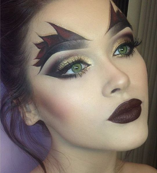 The Most Hauntingly Gorgeous Halloween Makeup Looks on Instagram - Livingly