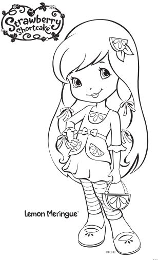 42 best Strawberry Shortcake ~ Coloring Pages images on Pinterest ...