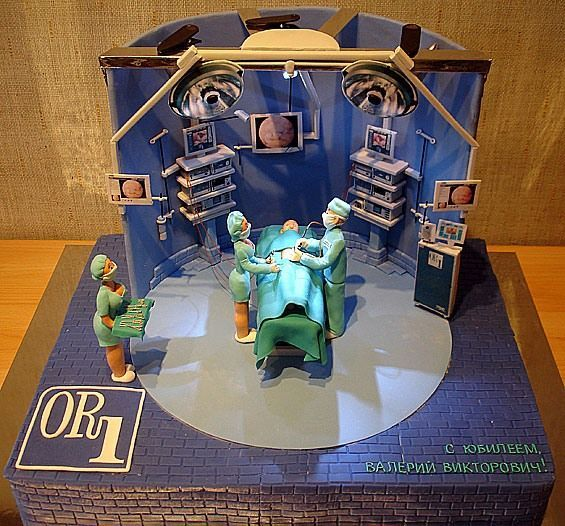 Operating Room Cake...