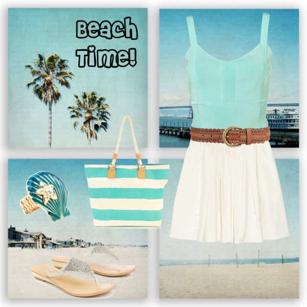Beach time!, created by lealtice on Polyvore: Beaches Time