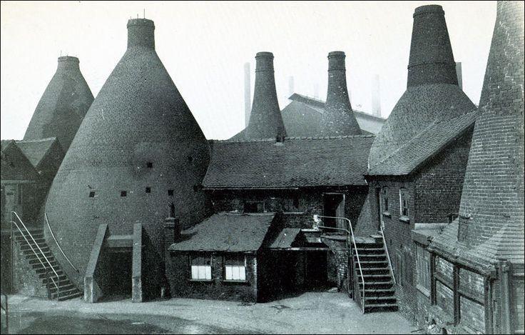 Original Bottle Kiln Ovens, Wedgwoods, Etruria c.1952