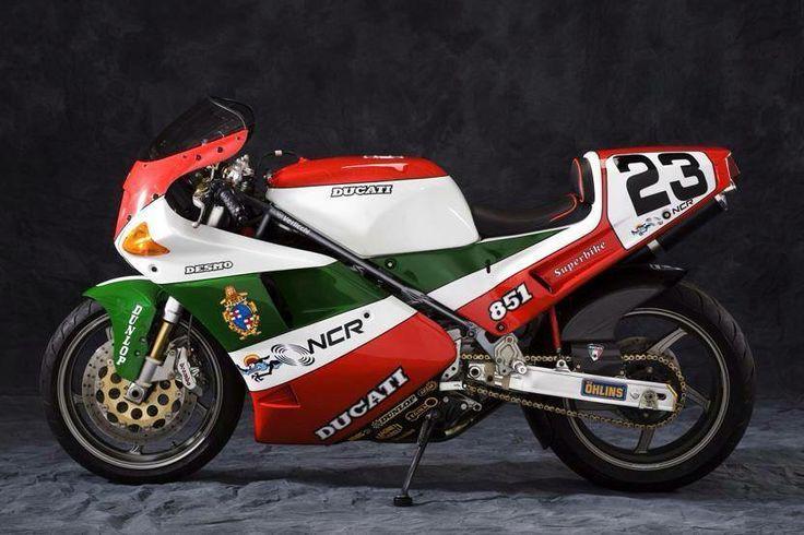 Beautiful Ducati 851 (ducati cafe farcebook).