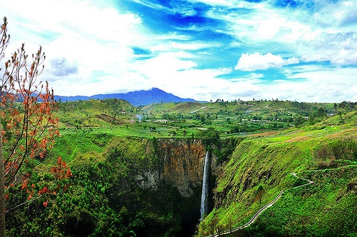 Sipiso-piso Waterfall, Jewel In the Tanah Karo