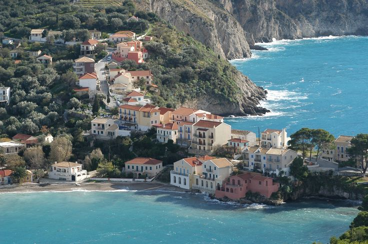 Asos, Kefalonia, Greece