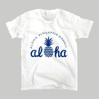 パイナップル 14 ブルーロゴ 人気シリーズの青ロゴ Tシャツ新発売 pineappleのイラストとalohaのロゴが入ったグッズです ハートがつまったパイナップルデザインTシャツは男女兼用綿100%Tシャツ100コットン製のロンパースやベビービブはプレゼントにも ハワイ好きの方hawaiiをイメージしたデザインをお探しの方ペアでTシャツをお探しの方に是非 サイズはキッズサイズレディースメンズ豊富に揃っています Tシャツやフーディなどサイズもkidsから大人はSXXXLサイズまで豊富です #suzuri#cotton#コットン#design#デザイン#オリジナル#aloha#パイナップルtシャツ #suzuri#pineapple#hawaii#ハワイ#ファッション#fashion#カジュアル#カジュアルコーデ#Tシャツ#tシャツ #フーディ#ペアルック#alohapineapplehawaii#original#パイナップル柄#スウェット#tシャツ#tshirt#ユニセックス#メンズ#レディース#T恤衫#アロハ#青 by alohapineapplehawaii